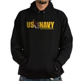 Navy Brother Hoodie