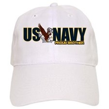 Navy Brother Baseball Cap