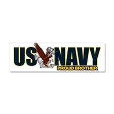 Navy Brother Car Magnet 10 x 3