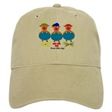 Three Little Pigs Baseball Cap