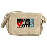 Barack The Vote 2012 with Sid Messenger Bag