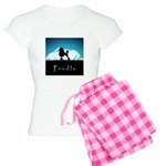 Nightsky Poodle Women's Light Pajamas
