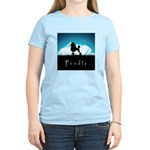 Nightsky Poodle Women's Light T-Shirt