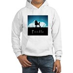 Nightsky Poodle Hooded Sweatshirt