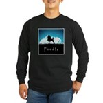 Nightsky Poodle Long Sleeve Dark T-Shirt