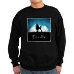 Nightsky Poodle Sweatshirt (dark)