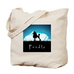 Nightsky Poodle Tote Bag