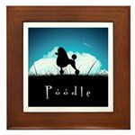 Nightsky Poodle Framed Tile