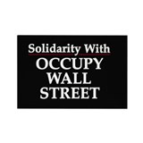 Occupy Wall Street - Rectangle Magnet