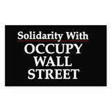 Occupy Wall Street - Decal