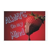 Strawberry and Chocolate Postcards (Package of 8)