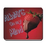 Strawberry and Chocolate Mousepad
