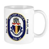 USS Fort Fisher LSD 40 Decommission Mug