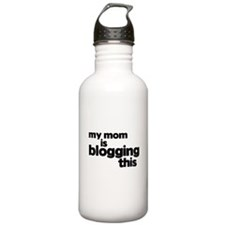 Blogging Mom Water Bottle
