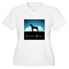Nightsky Great Dane T-Shirt