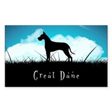 Nightsky Great Dane Decal