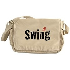 Funny Country dance Messenger Bag