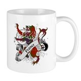 Fraser Tartan Lion Small Mugs
