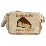 Someone Say Cheesecake Messenger Bag