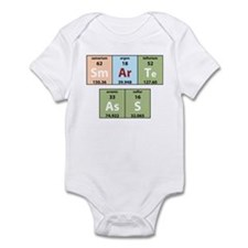 Chemistry Smart Ass Infant Creeper