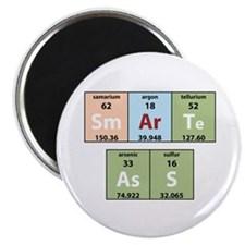 "Chemistry Smart Ass 2.25"" Magnet (10 pack)"