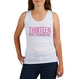 Simple Thirteen Point Freakin Women's Tank Top
