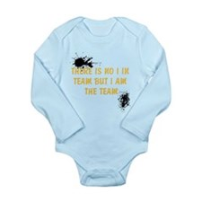 There is no I in team Long Sleeve Infant Bodysuit