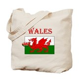 Wales Rugby Tote Bag