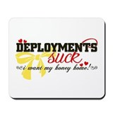 I want my honey home! Mousepad