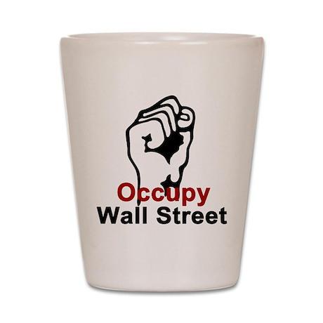 Occupy Wall Street - Shot Glass