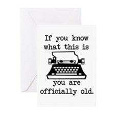 You Are Officially Old Greeting Cards (Pk of 10)
