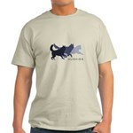 Running Huskies Light T-Shirt