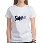 Running Huskies Women's T-Shirt