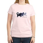 Running Huskies Women's Light T-Shirt