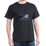 Running Huskies Dark T-Shirt
