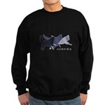 Running Huskies Sweatshirt (dark)