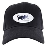 Running Huskies Black Cap