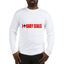 I Club Baby Seals Long Sleeve T-Shirt