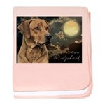 Moonlit Ridgeback baby blanket