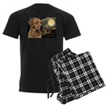 Moonlit Ridgeback Men's Dark Pajamas