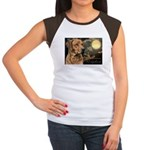 Moonlit Ridgeback Women's Cap Sleeve T-Shirt