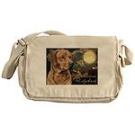 Moonlit Ridgeback Messenger Bag