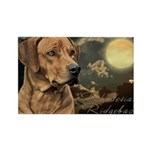 Moonlit Ridgeback Rectangle Magnet (100 pack)