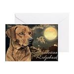 Moonlit Ridgeback Greeting Cards (Pk of 20)
