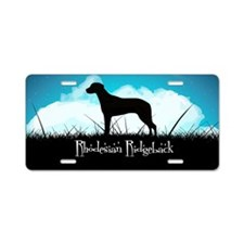 Nightsky Ridgeback Aluminum License Plate