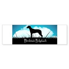 Nightsky Ridgeback Bumper Sticker