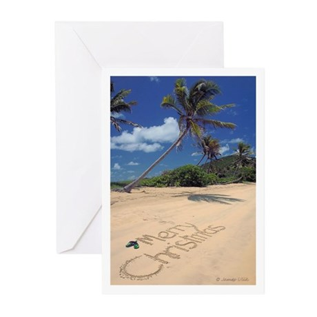 Caribbean Christmas Cards Pk Of 10 By Merengue