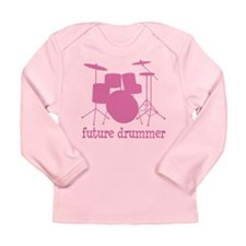 Cute Instrument Long Sleeve Infant T-Shirt