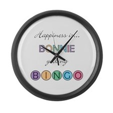Bonnie BINGO Large Wall Clock