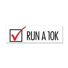 Run a 10k Car Magnet 10 x 3